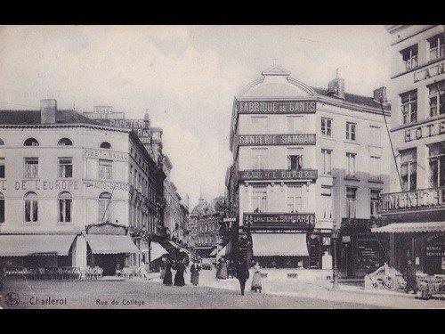 14: Charleroi et environs. Environ 80 cartes postales.