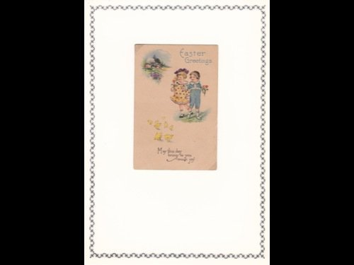 1: Fantaisie. 80 cartes postales de voeux canadiennes o