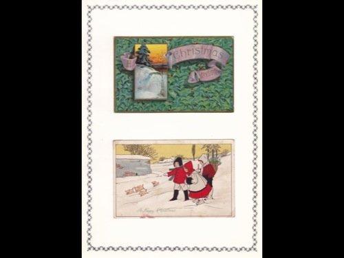 1: Fantaisie. 80 cartes postales de voeux canadiennes o - 2