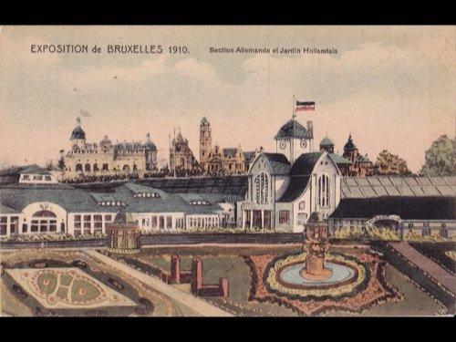 15: Bruxelles. Exposition universelle avril 1910. Envir