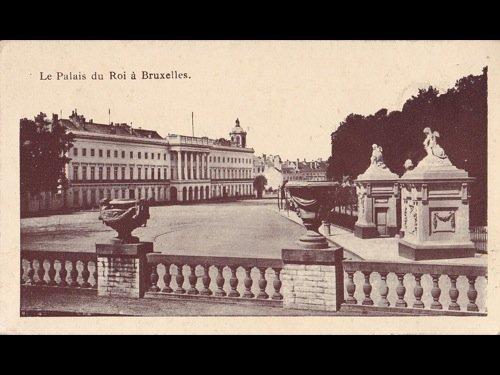 18: Bruxelles: Palais royal, Parc, Place Royale, Mont-d