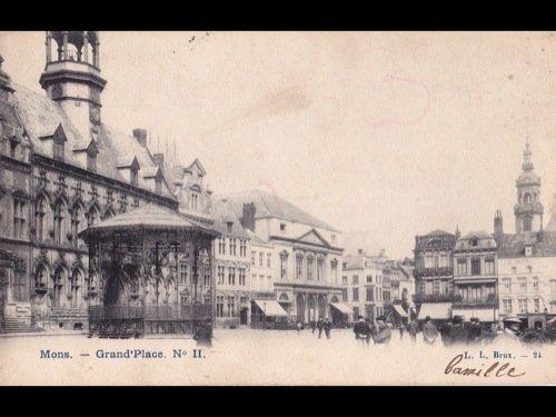 25: Hainaut. Environ 90 cartes postales.