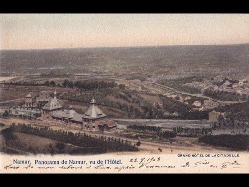 28: Namur (Province de). Environ 250 cartes postales.