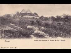 42: Congo belge. Environ 100 cartes postales.