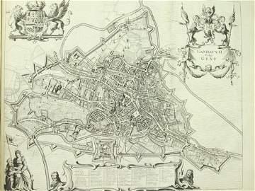 246: Anthoni SANDERUS - Verheerlykt Vlaandre. Eerste [-