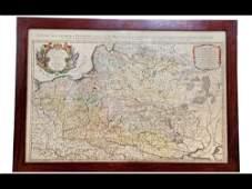 251: Nicolas SANSON - Estats de la couronne de Pologne,