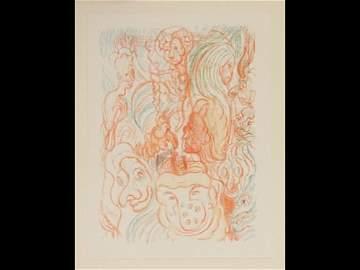 280: James ENSOR (OSTENDE, 1860 - 1949) - Scènes de la