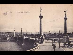 Liège. Environ 400 cartes postales.