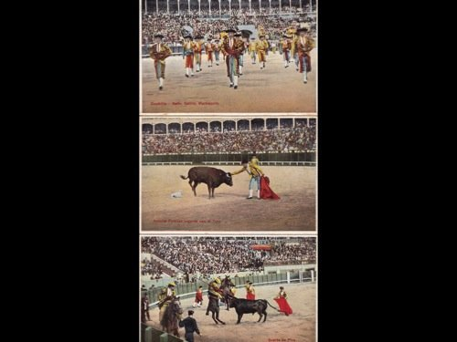 14: [Espagne] Recuerdo de la corrida de toros. 12 tarje