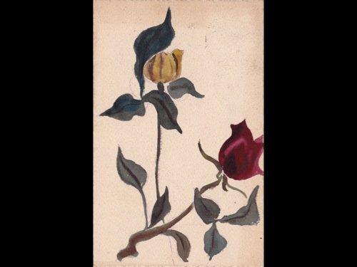 21: Fantaisie. Environ 330 cartes postales : fleurs, je
