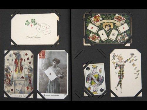 [Cartes à jouer] Cartes postales sur le thème des jeux