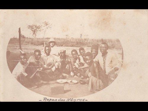Congo belge. Environ 110 cartes postales, époques diver