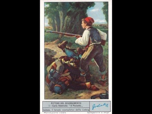 Chromos Liebig. 58 séries italiennes.
