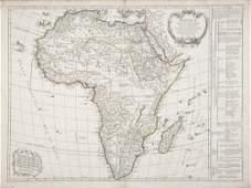 Didier ROBERT DE VAUGONDY  Afrique divise en ses prin