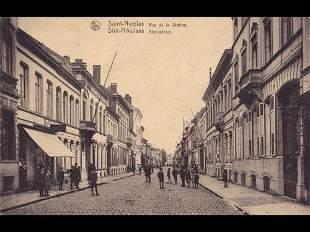 Anvers et environs. Environ 75 cartes postales.
