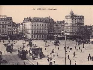 Bruxelles et Laeken. Environ 60 cartes postales.