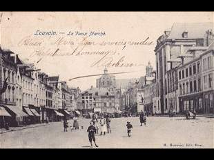 Bruxelles, Louvain et Tervuren. Environ 70 cartes posta