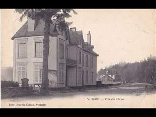 Châteaux de Belgique. Environ 580 cartes postales réuni