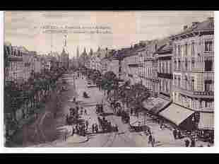 Anvers. Ensemble de 64 cartes postales couvrant les ann