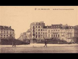 Bruxelles Centre-Ville. Album de 230 cartes postales, é