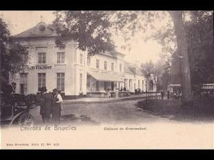 Bruxelles & Brabant. Environ 170 cartes postales, époqu