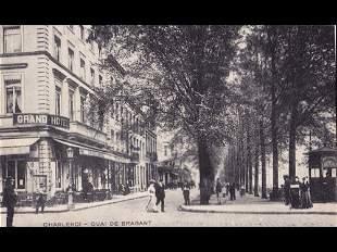 Hainaut: Charleroi. 41 cartes postales, époques diverse