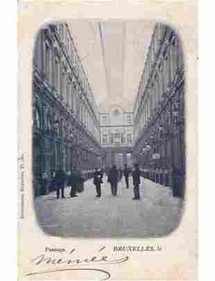 BRUXELLES Centre-Ville. Album de 230 cartes postales. A