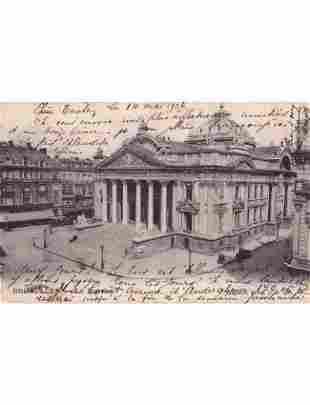 BRUXELLES et expositions de Bruxelles de 1910 & 1935. E