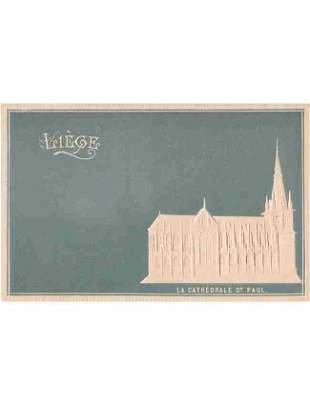 LIÈGE-VILLE. Lot d'environ 300 cartes postales.