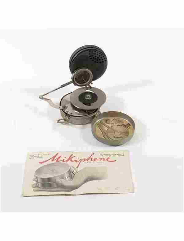 [PHONOGRAPHE ] Mikiphone. Le premier phonographe de poc