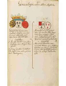 [LOUVAIN - MANUSCRIT] [Famille BERTIJNS ]- Genealogie B