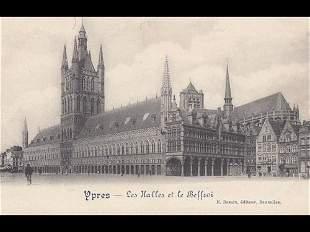 BELGIQUE : Bruxelles, Bruges, Courtrai, Ypres... Enviro