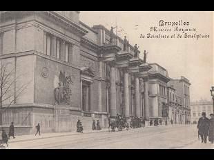 BRUXELLES. Environ 425 cartes postales, époques