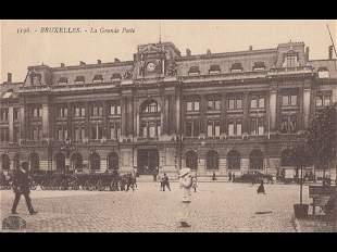 BRUXELLES. Environ 315 cartes postales, époques