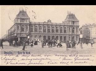 BRUXELLES. Environ 130 cartes postales.