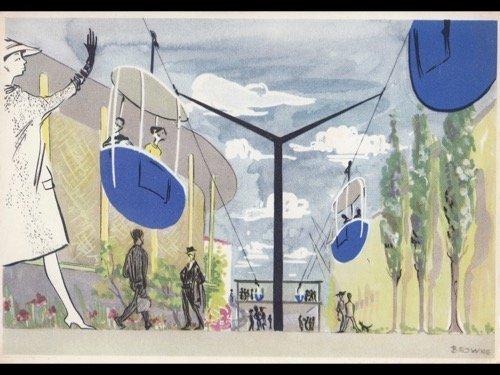 EXPO 58. Environ 110 cartes postales.
