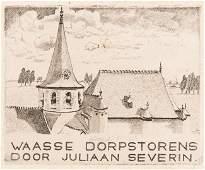 [BELGIQUE] Juliaan SEVERIN - Waase dorpstorens.
