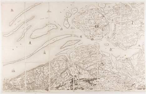 FERRARIS - Carte chorographique des Pays-Bas autrichien