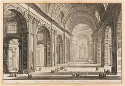 Giovanni-Battista PIRANESI DIT LE PIRANESE (MOZANO DI M