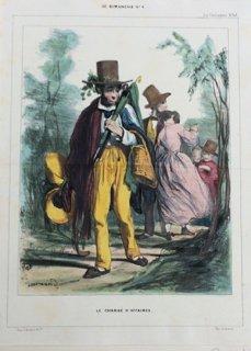 Paul GAVARNI (PARIS, 1804 - 1866) - Â« Les Enfants