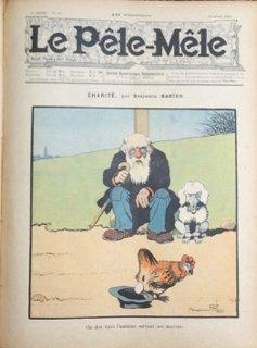 LE PÊLE-MÊLE. Journal humoristique hebdomadaire. 9e