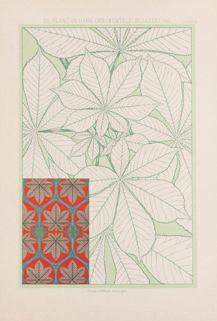 [PLANTES] Th. M. M. van GRIEKEN - De Plant in hare Orna