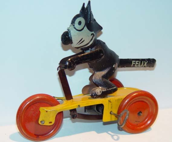 7: Ext Rare 1922 German Felix Scooter Toy