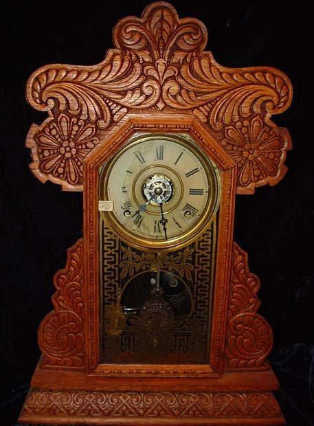 124: E. Ingraham Itasca Antique Clock