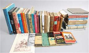 Mixed lot of 40 pieces books among them 100 Jahre
