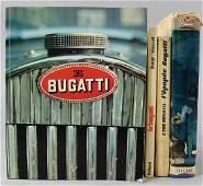 "BUGATTI Mixed lot of 4 books, No. 1: book ""L'Epopéé"
