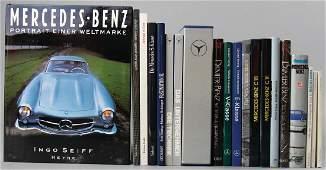 MERCEDESBENZ Mixed lot of 19 books among them eg
