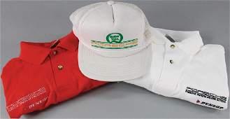 PORSCHE Mixed lot of 3 pieces No 1 baseball cap