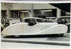 ERDMANN & ROSSI Original B/W factory-press photo
