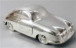 """FERRY PORSCHE/MAX NATHAN Silver Porsche """"Dem Deutschen"""